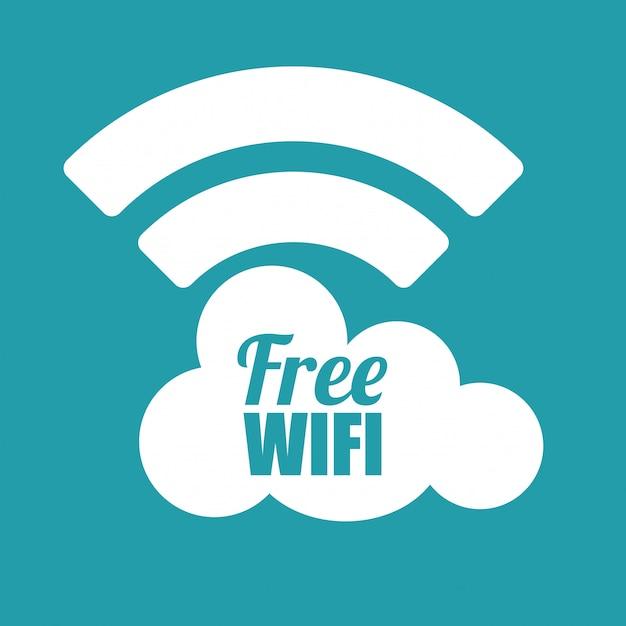 Wifi-design Premium Vektoren