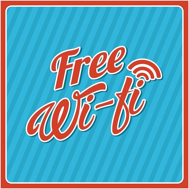 Wifi verbindung Premium Vektoren