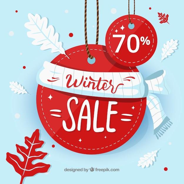 Winterverkauf Kostenlosen Vektoren