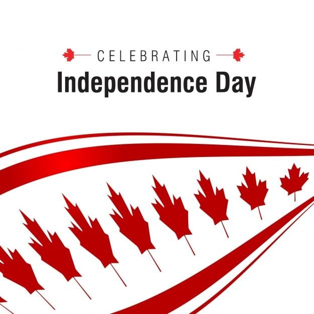 Wir feiern independence day hintergrund Kostenlosen Vektoren