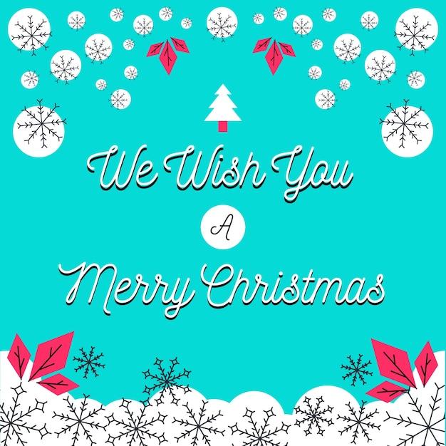 Wir wünschen Ihnen Frohe Weihnachten Grußkarte | Download der ...