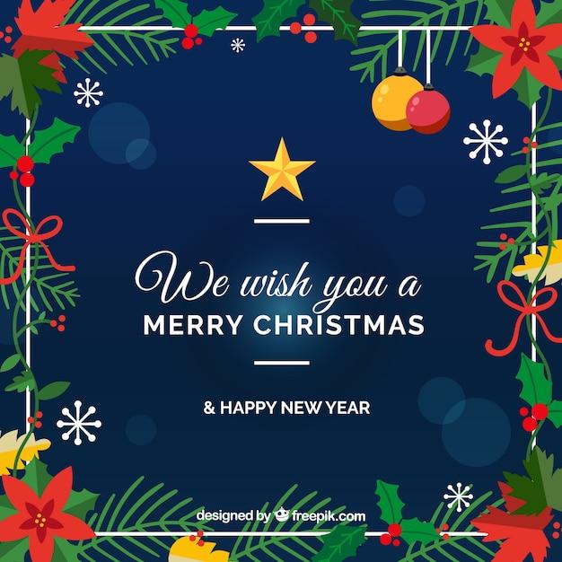 Wir wünschen Ihnen frohe Weihnachten Hintergrund | Download der ...