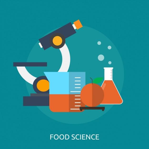 Wissenschaft hintergrund-design Kostenlosen Vektoren