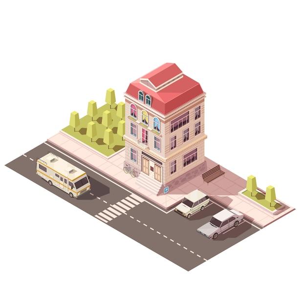 Wohnhaus Kostenlosen Vektoren