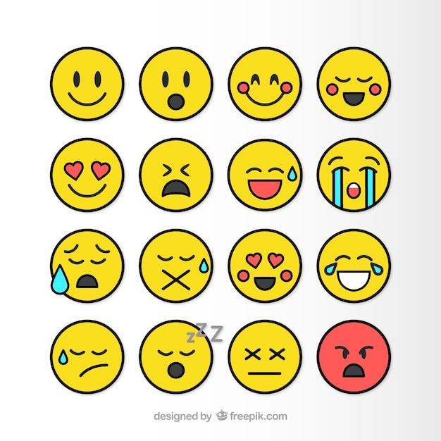 Wohnung smileys packen download der kostenlosen vektor for Meine wohnung click design download