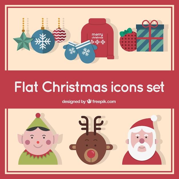 wohnung weihnachts icons sammlung download der. Black Bedroom Furniture Sets. Home Design Ideas