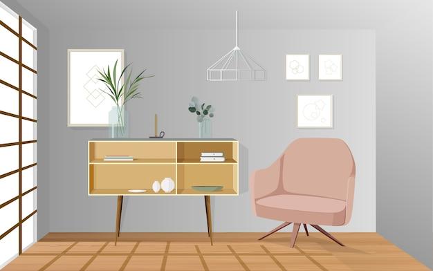 exklusive deko fur wohnzimmer, wohnzimmer dekoration | download der premium vektor, Design ideen