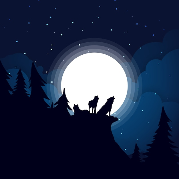 Wolf Nacht