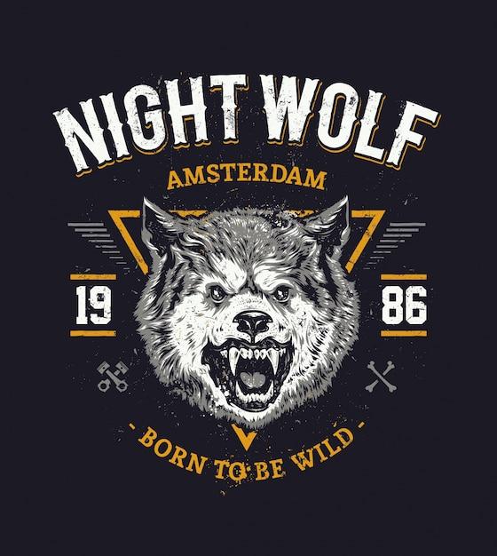 Wolf kopf kunst Kostenlosen Vektoren