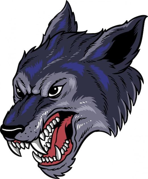 Wolf Premium Vektoren