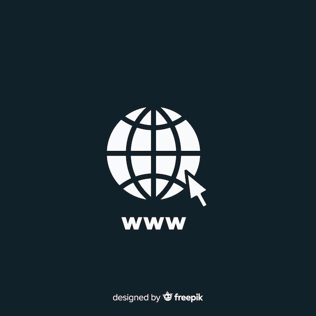 Www-symbol Kostenlosen Vektoren