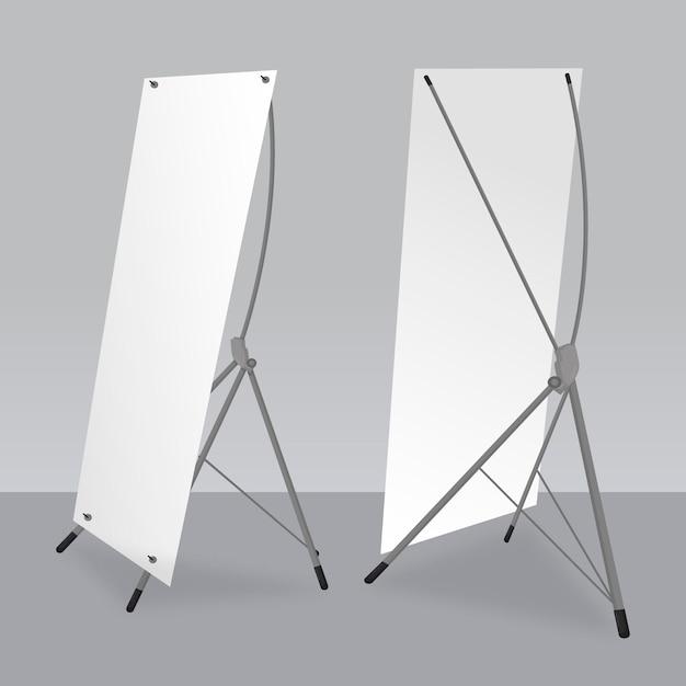 X stand banner vorlage sammlung Kostenlosen Vektoren