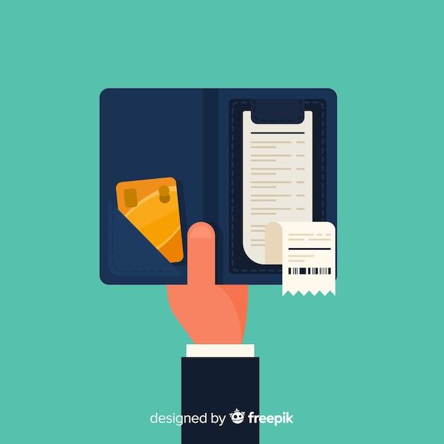 Zahlungsbeleg Kostenlosen Vektoren