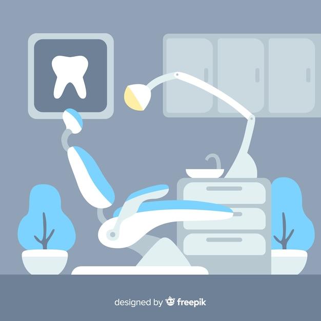 Zahnklinik hintergrund Kostenlosen Vektoren