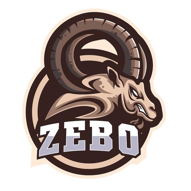 Zebo e sports-logo Premium Vektoren