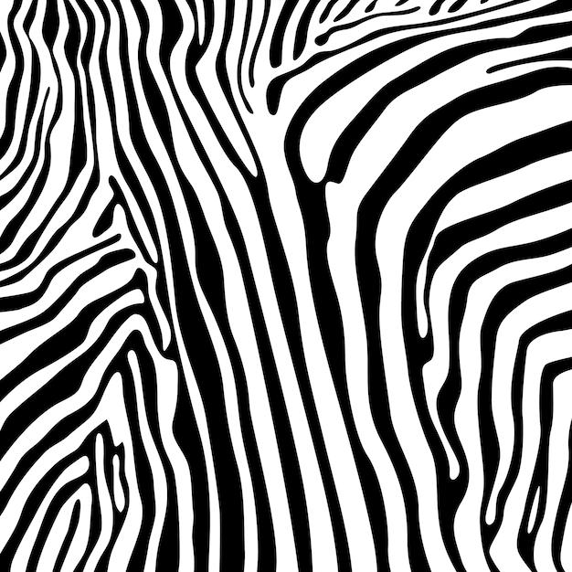 Zebra stripes nahtloses muster Premium Vektoren