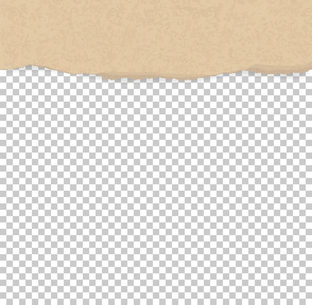 Zerrissene papierränder für hintergrund Premium Vektoren