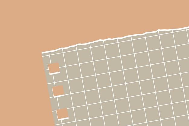 Zerrissener papieranmerkungshintergrund Kostenlosen Vektoren