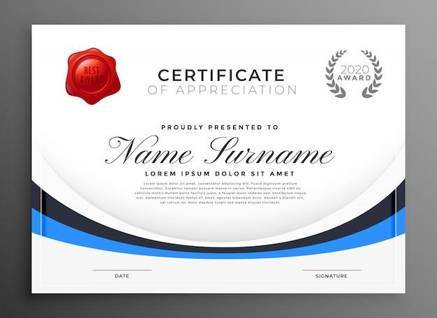 Gemütlich Zertifikat Der Leistungsvorlage Ideen - Beispiel ...