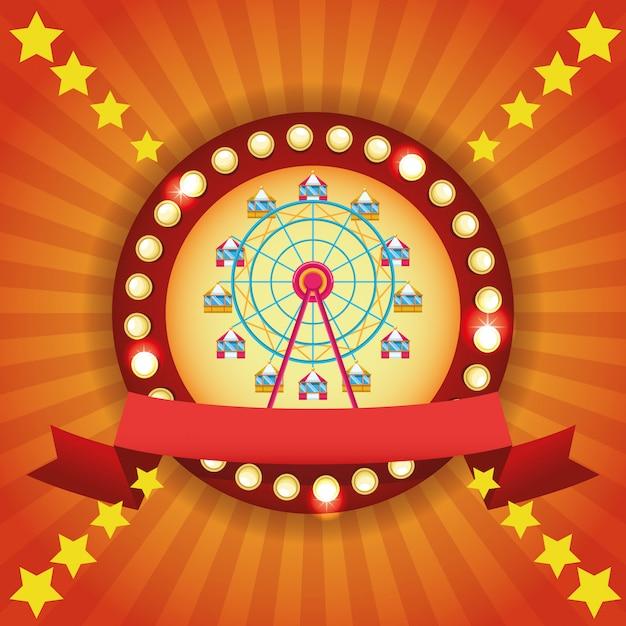 Zirkusfestival Kostenlosen Vektoren