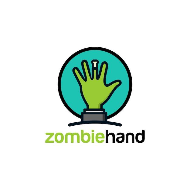 Zombie-logo Premium Vektoren
