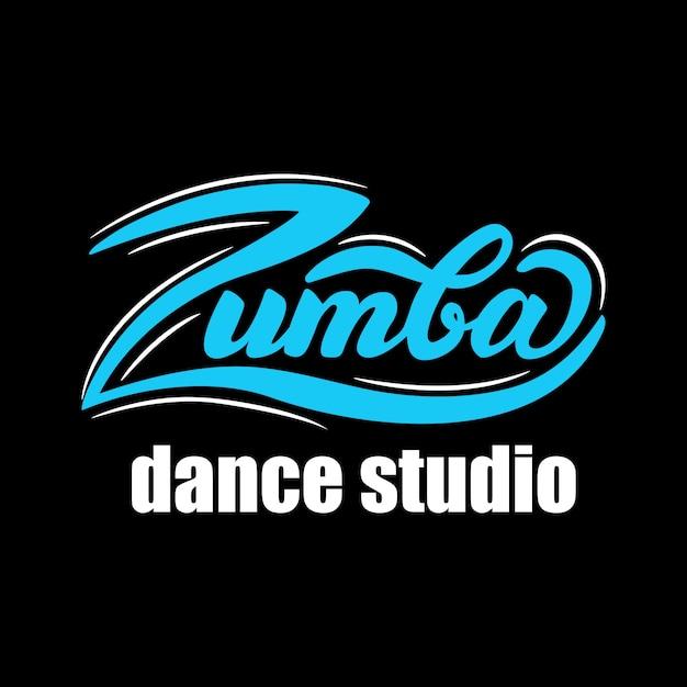 Zumba dance studio banner design. vektor-illustration. Premium Vektoren