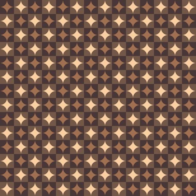 Zusammenfassung des runden geometrischen musterhintergrundes des art deco. Premium Vektoren