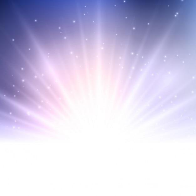 Zusammenfassung hintergrund mit starburst-design Kostenlosen Vektoren
