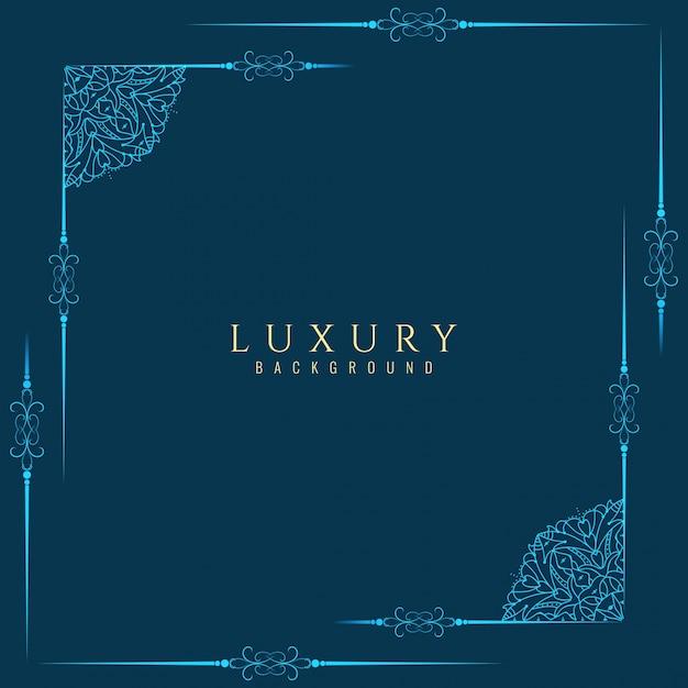 Zusammenfassung Luxus Rahmen Hintergrund Kostenlose Vektoren