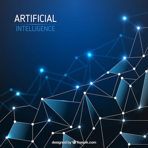 Zusammenfassung vorlage für künstliche intelligenz Kostenlosen Vektoren