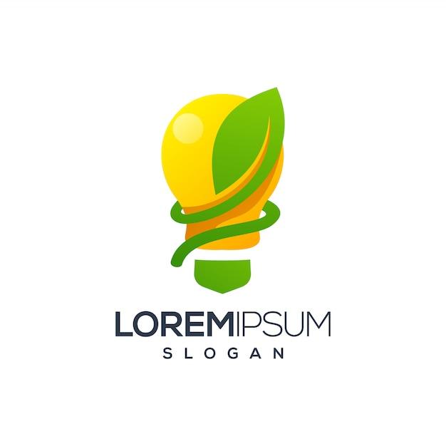 Zwiebelblatt-logo Premium Vektoren