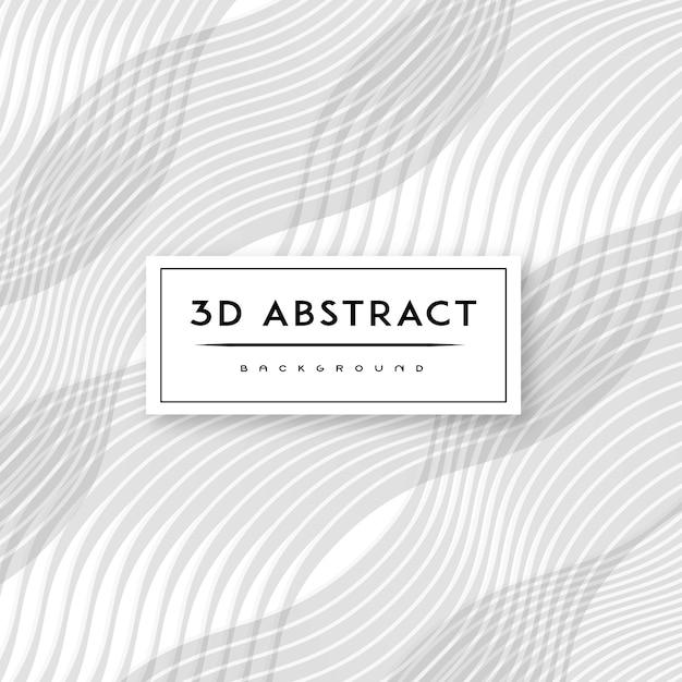 3-d vector abstract background pattern Vetor Premium