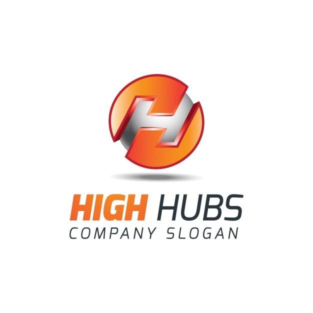 meses atr  s Ai ...H Logo 3d