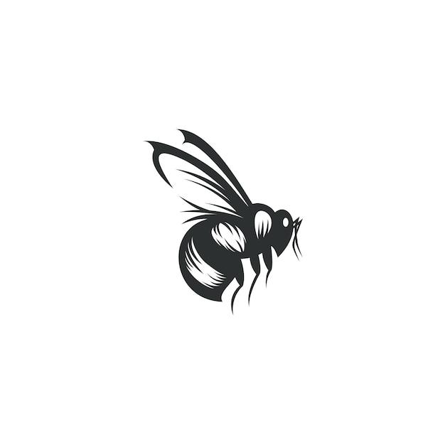 Abelha desenho ilustração isolado Vetor Premium