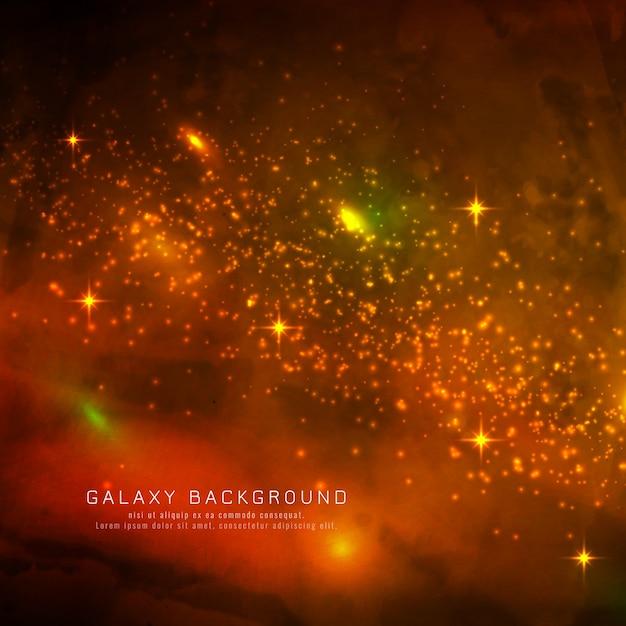 Abstarct magical galaxy background Vetor grátis