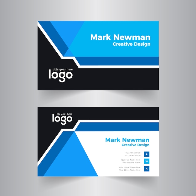 Abstract business card vector design baixar vetores premium abstract business card vector design vetor premium reheart Images
