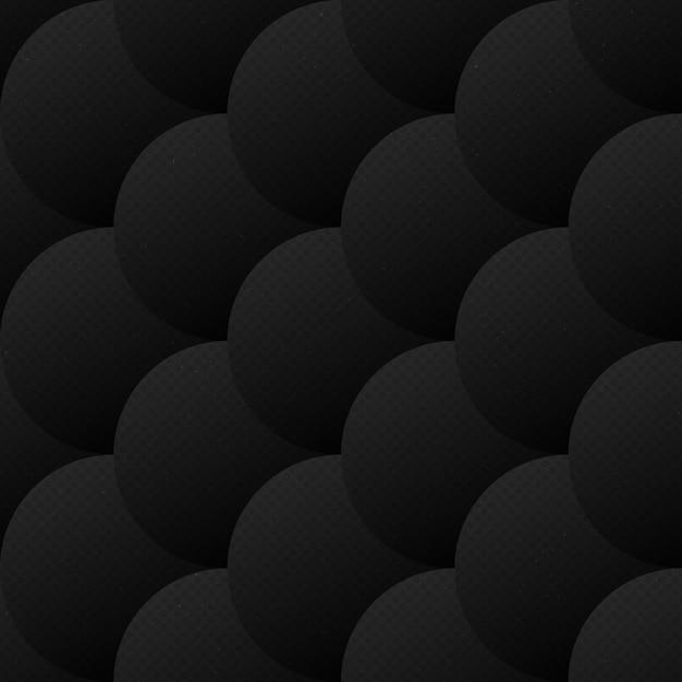 Abstract vector squamous padrão sem emenda escuro Vetor Premium