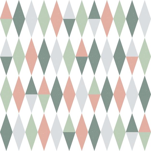 Abstrata sem costura padrão geométrico. Vetor Premium