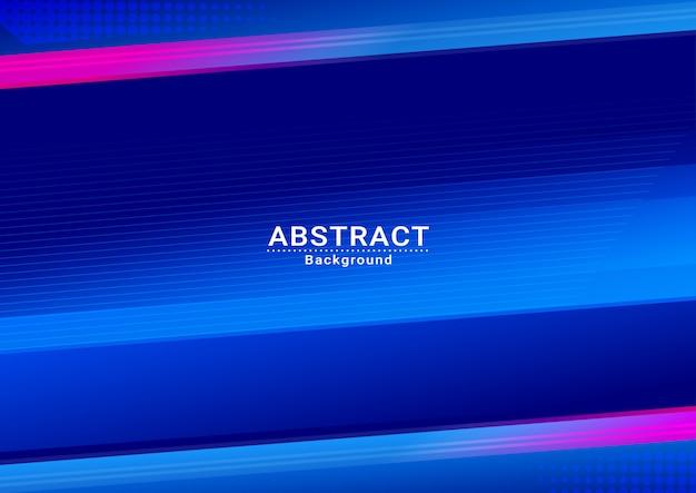 Abstrato azul céu vector background em design Vetor Premium