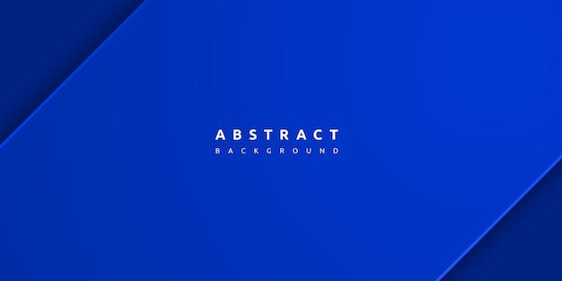 Abstrato azul com espaço em branco Vetor Premium