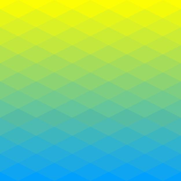Abstrato base poligonal de losango Vetor Premium