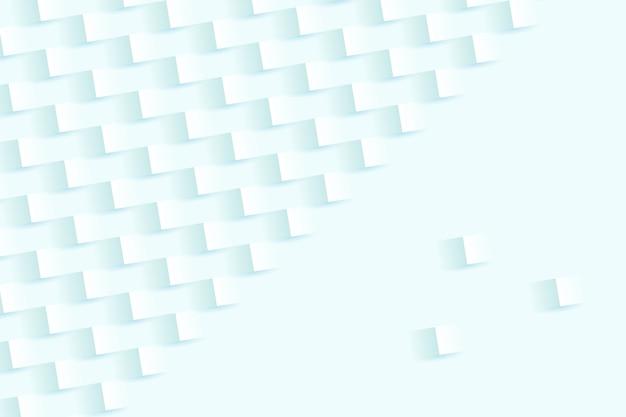 Abstrato branco em estilo de papel 3d Vetor grátis