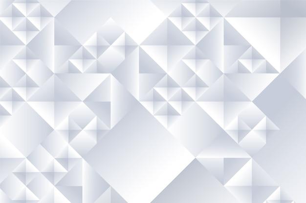 Abstrato branco no conceito 3d Vetor grátis