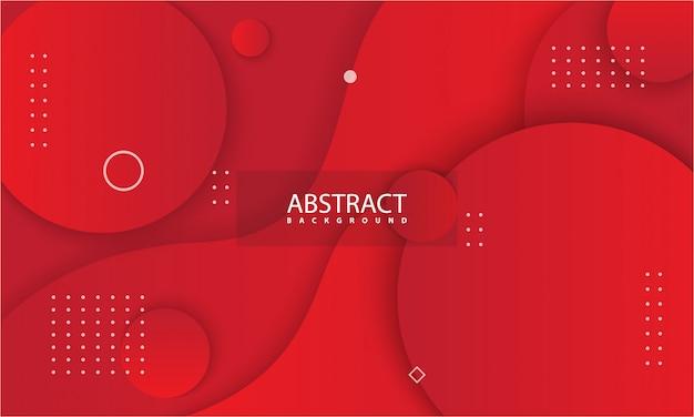 Abstrato com cor vermelha. Vetor Premium