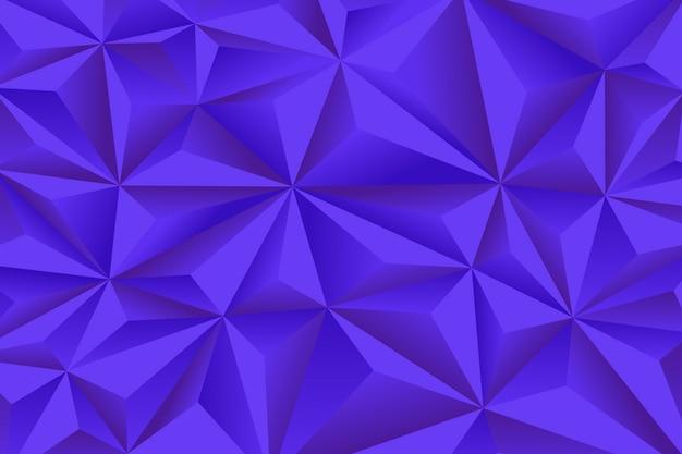Abstrato com polígonos 3d azuis Vetor grátis