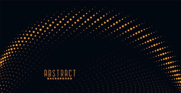 Abstrato de partículas douradas Vetor grátis