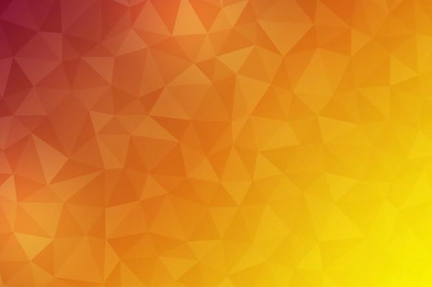 Abstrato de polígono usando formas triangulares como um componente. Vetor Premium