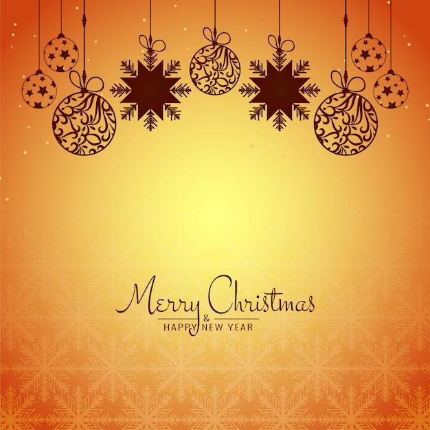 Abstrato feliz natal festival celebração base Vetor grátis