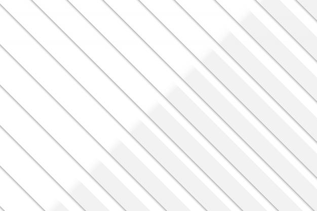 Abstrato geométrico fundo branco e cinza Vetor Premium