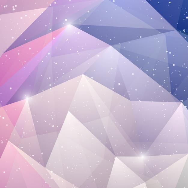 Abstrato geométrico fundo roxo. Vetor Premium